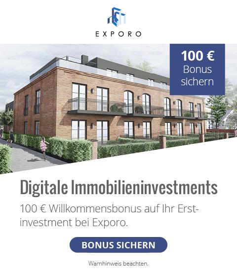 Exporo: Digitale Immobilieninvestments